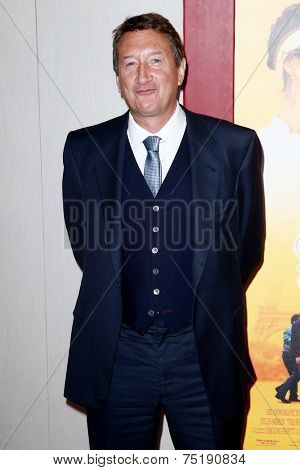 NEW YORK-AUG 4: Screenwriter Steven Knight attends