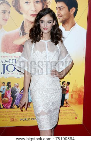 NEW YORK-AUG 4: Actress Charlotte Le Bon attends