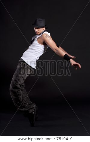 Young Stylish Dancer