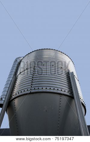 Large Stainless Steel Grain Silo