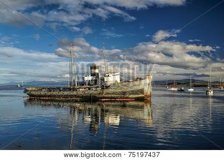 Port In Ushuaia