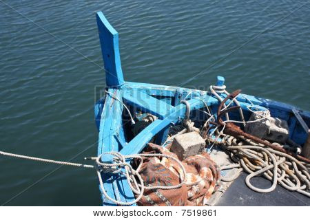 Bow Of Old Fishing Boat