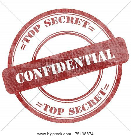 Confidential, Top Secret, Seal Stamp