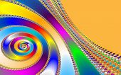 stock photo of mandelbrot  - Digital visualization of a colourful fractal called Mandelbrot set - JPG