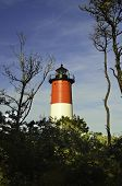image of cape-cod  - A view of the Nauset lighthouse in Provence town Cape Cod area - JPG