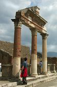 One more day of Pompei poster