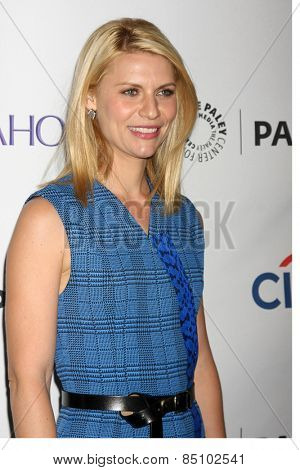 LOS ANGELES - MAR 6:  Claire Danes at the PaleyFEST LA 2015 -