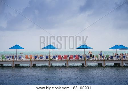Decameron Aquarium Hotel Dock And View Of The Sea