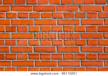 Background of new brick wall texture