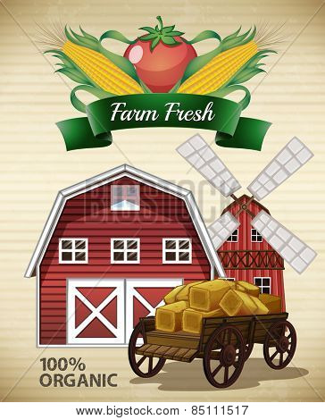 Buildings and fresh farm products