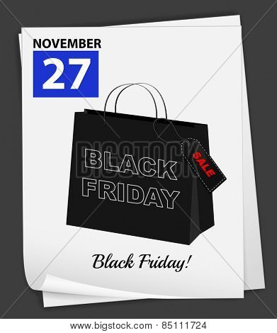 November 27 is black friday