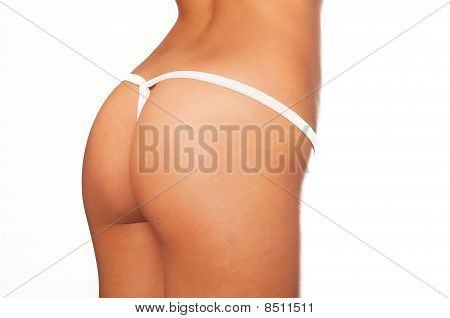 Healthy fit perfect bottom and thigh