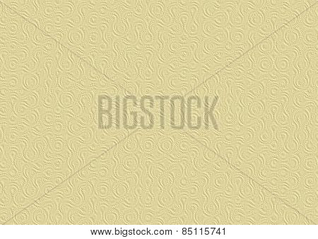Light Yellow Embossed Paper 3D Texture