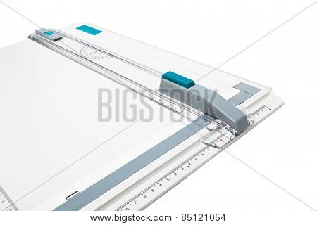 modern drawing board on a white background