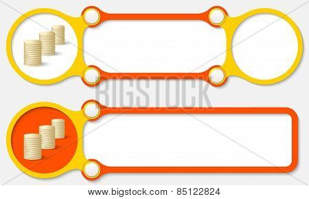 Vector Abstract Frames