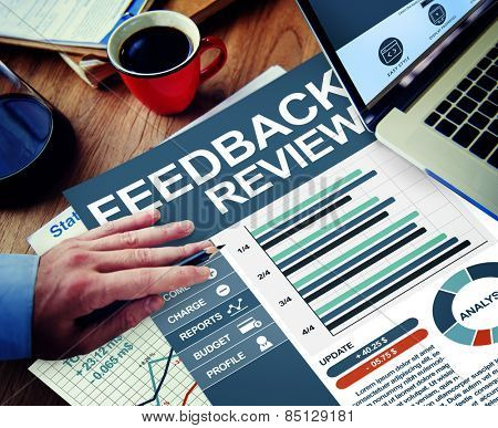 Feedback Review Survey Improvement Response Service Concept