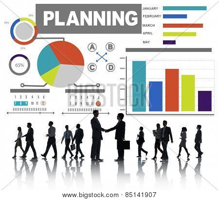 Business People Planning Partnership Team Corporate Concept