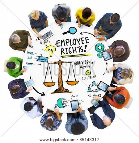 Employee Rights Employment Equality Job Meeting Technology Concept