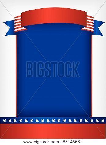 Patriotic frame