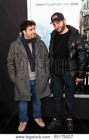 NEW YORK-MAR 4: Actor David Krumholtz (L) and Gregg Bello attend the premiere of
