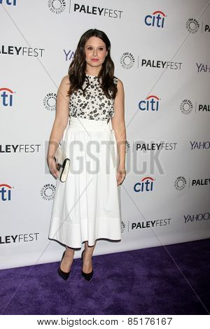 LOS ANGELES - MAR 8:  Katie Lowes at the PaleyFEST LA 2015 -