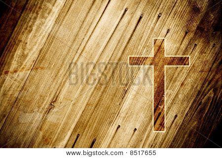 Grunge abstrata religião imagem conceitual