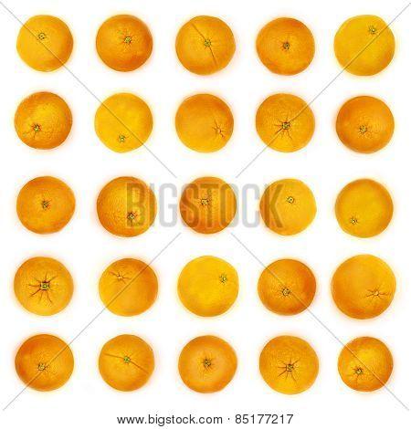 Orange Background In Milk