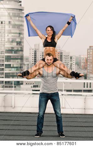 Yoga Couple