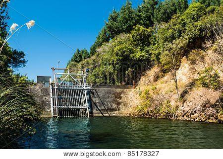 Water Control Dam