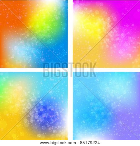 Abstract bokeh background, easy all editable