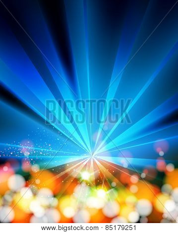 Disco Party Background Template, easy editable
