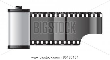 reel of 35 mm photo film