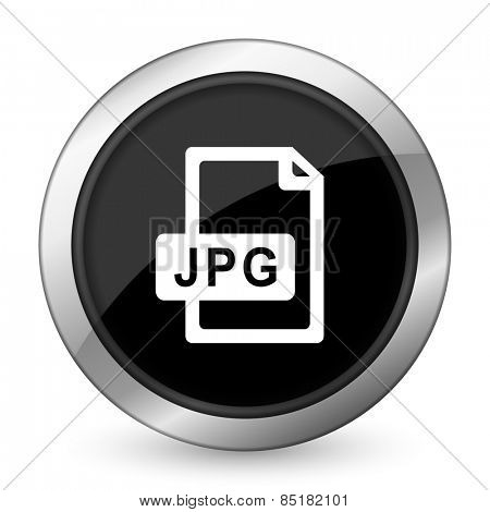 jpg file black icon