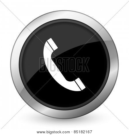 phone black icon mobile phone sign