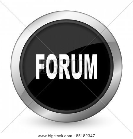 forum black icon