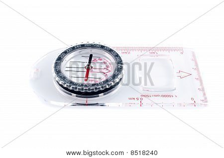 Transparent Compass
