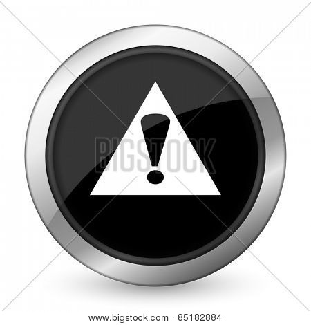 exclamation sign black icon warning sign alert symbol