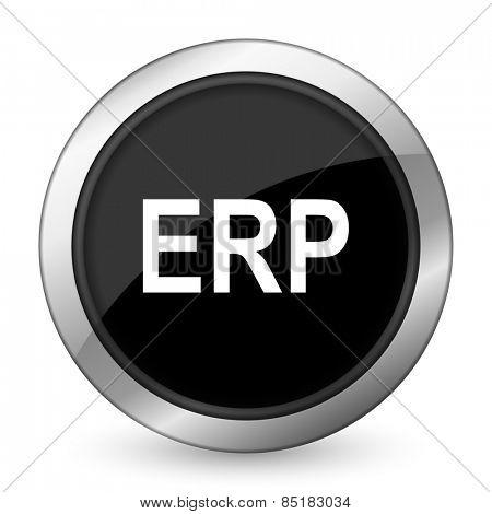 erp black icon