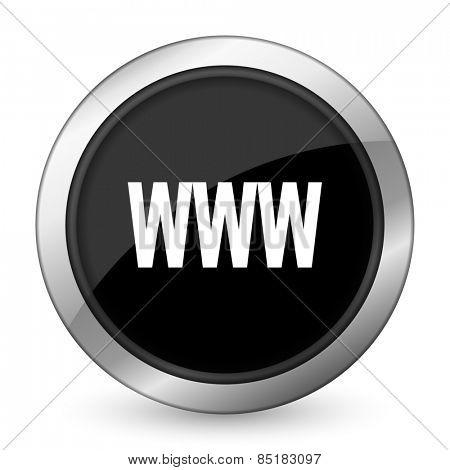 www black icon