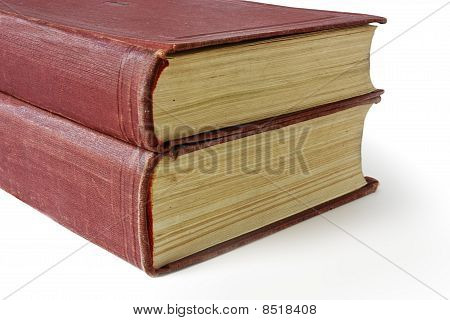 Two Red Old Books