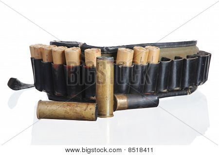 Hunting Leather Bandolier