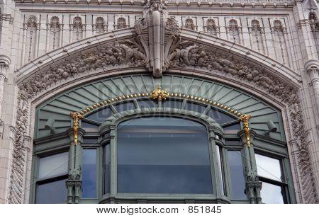 Ornate Window Boston Massachusetts