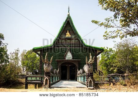 Church Of Thailand, Green, Temple Thailand, Thailand Culture, Peaceful, Beautiful.