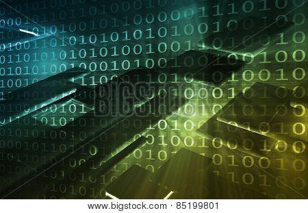 Modern Technology Background as a Abstract Art