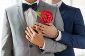 image of gay wedding  - people - JPG