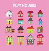 picture of house-plant  - flat houses - JPG
