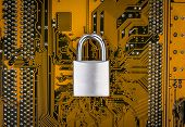 stock photo of cybercrime  - Protection concept  - JPG