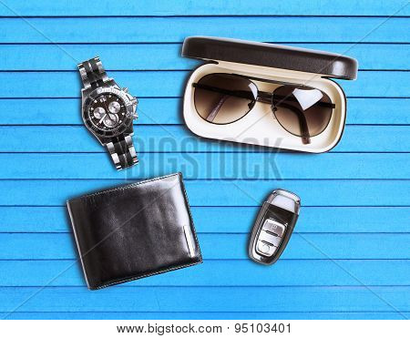 Set Of Men's Accessories