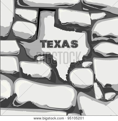 Texas Stone Wall