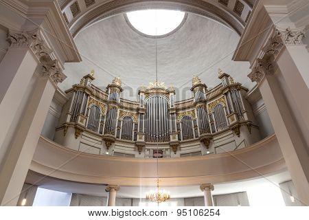 Organ In Helsinki Cathedral